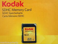 sd hc 16 gb go Kodak carte mémoire neuve grande marque garantie stock France