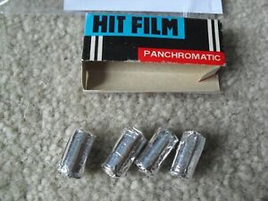 Vintage Toy Spy Camera Lit Film Hit Film In Box with 4  Unused Rolls