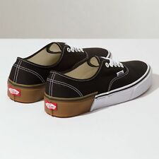 MEN'S VANS AUTHENTIC SKATE SHOES SIZE 9 NEW GUM BLOCK BLACK