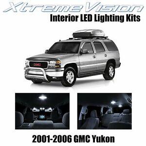 XtremeVision Interior LED for GMC Yukon 2001 - 2006 (18 PCS) Pure White