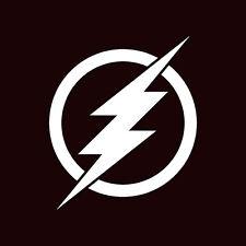 """The Flash Logo Custom Car Decal Sticker 10"""" x 10"""""""