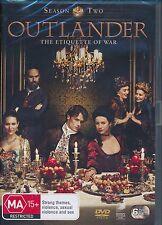 Outlander Season Two DVD Etiquette of War Region 4 6-disc set