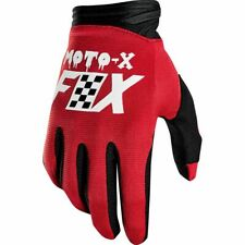 Taglia L Coppia Guanti Fox Dirtpaw Gloves Czar Cardinal Red Cross Enduro DH