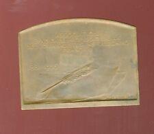 originale plaquette des journalistes républicains français 1881-1906