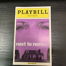 NEXT TO NORMAL April 2009 Broadway OPENING NIGHT Playbill! AARON TVEIT N2N