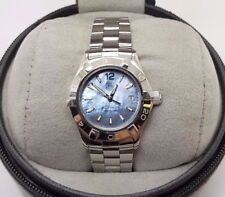 Genuine Tag Heuer Women's Blue Mother of Pearl Aquaracer WAF1417.BA0812 Watch