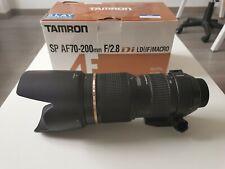 Objetivo Tamron 70-200 2.8 Nikon como nuevo.