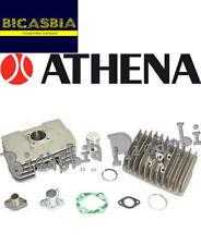 8227 - CILINDRO ATHENA IN ALLUMINIO DM 48 75 CC Minarelli 2T P6 RADIALE CROMATO