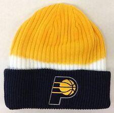 NBA Indiana Pacers Adidas Con Puño De Invierno Tejido Sombrero Gorra Gorro  Estilo  KU87Z! nuevo! c797919387a