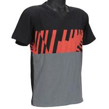 Oakley UP TIME T-Shirt Size M Medium Charcoal Black Mens Slim Fit Shirt