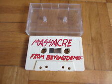 MASSACRE From Beyond DEMO Cassette Tape Death Metal