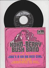 """7"""" - Single Koko-Berry Bush nastro she's a na NICE GIRL (1969) Don Oriolo GERMANY PS"""