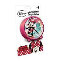 Disney Minnie Maus Wecker pink Uhr Kinderwecker Alarm Clock NEU OVP analog