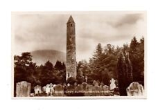 Ireland - County Wicklow, Glendalough, Round Tower - Vintage Postcard