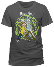 RICK AND MORTY 'Spiral' T-SHIRT - Nuevo y Oficial