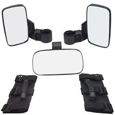 Rear&Side View Mirror Grab Handle Fit Polaris Can-Am Wildcat UTV Roll Bar Cage