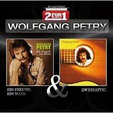 """WOLFGANG PETRY """"EIN FREUND EIN MANN/ZWEISAITIG"""" 2 CD"""