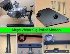 Simson Werkzeug Paket, Spezialwerkzeug, Motorständer + 6 Werkzeuge S51, S70 Kr51
