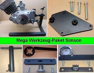 Simson Werkzeug Paket, Spezialwerkzeug, Motorständer + 6 Werkzeuge S51, S50 Kr51