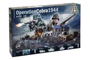 Italeri 6116 Operation Cobra 1944 1/72 Scale Battlefield Diorama Set