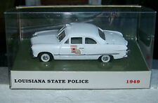 NEW 1:43 1949 Ford Louisiana State Police Highway Patrol Police Car Cruiser