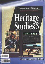 BJU Heritage Studies 3 Home Teacher's Edition Second Edition - 3rd Grade