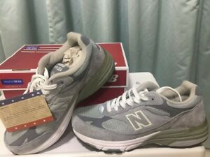 NWT New balance Made in US 993 Grey with white Free Shipping