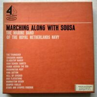 Marching Along With Sousa Reel to Reel EN 602 4 Track