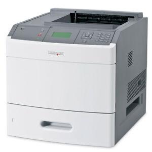 Lexmark T652N T652 A4 Mono Network USB Desktop Laser Printer + Warranty
