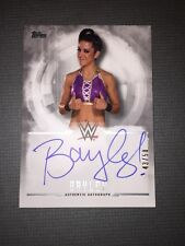 WWE Undisputed 2017 Autograph Card Of Bayley.