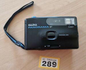 Halina Panorama F 35mm Panoramic Compact Film Camera working tested
