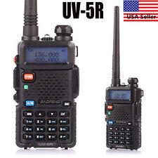 Baofeng UV-5R Black Dual Band UHF / VHF Two Way Ham FM Radio + Free Earpiece USA