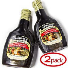 2 X Teriyaki Sauce 17 oz Bottles Mr Yoshida's Original Gourmet Sweet & Savory