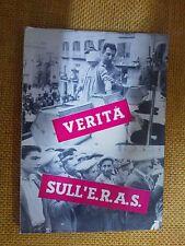LIBRO LA VERITÀ SU E.R.A.S. - LA CARTOGRAFIA 1964