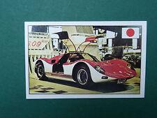 N°130 NISSAN R 380-2 JAPON JAPAN PANINI 1972 HISTOIRE DE L'AUTOMOBILE