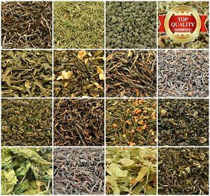 Loose Leaf Tea 70+ Types! Green Tea, Pu Erh, Black, Oolong, Herbal Jasmine Tea