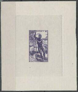 COLONIES - DAHOMEY - EPREUVE D'ARTISTE DU N°120