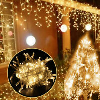 10M 100LED String Fairy Lights Party Wedding Christmas Tree Decor Warm White