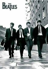 New Beatles In London, Black and White Photo The Beatles Poster