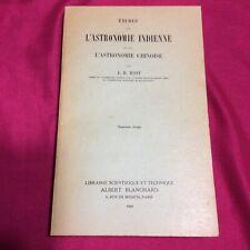 ETUDES SUR L'ASTRONOMIE INDIENNE ET SUR L'ASTRONOMIE CHINOISE J.B. BIOT 1969