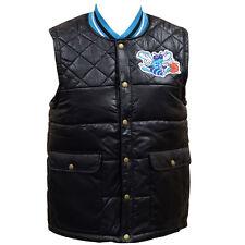 Charlotte Hornets Mitchell & Ness NBA Mens Snap Front Vest M