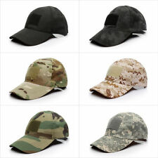 Special Forces Operator Tactical American UK Flag Patch Baseball Hat Cap