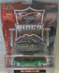 Maisto G-Ridez - '04 Ford F-150 - Black/Green - Urban Diecast Collection