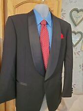 Men's Black Tuxedo Wool One Button 40R