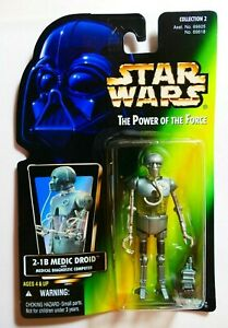Star Wars Kenner The Power of the Force 2-1B Medic Droid BNOC 1995