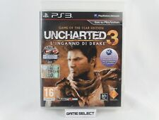 UNCHARTED 3 L'INGANNO DI DRAKE GAME OF THE YEAR EDITION GOTY PS3 PAL ITALIANO