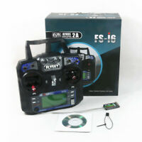FS-I6 2.4G 6 Channels RC Remote Control Radio Transmitter & iA6 Receiver FLYSKY