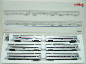 Marklin 43600 Amtrak Streamliner Set (Set of 6) LN/Box