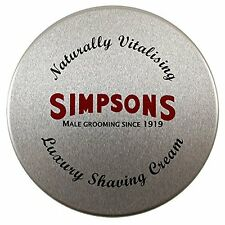Simpsons Luxury Shaving Cream Unscented