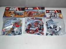 Lego Star Wars Lot Droid Escape Pod Set 75136 75132 75099 Sets Complete